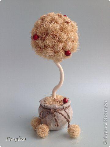 Бонсай топиарий 8 марта Моделирование конструирование Дерево счастья для мамы фото 1