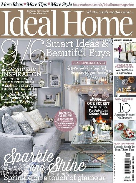 Ideal Home - January 2014 English | 172 pages | True PDF | 51.00 Mb