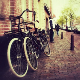Dutch bikes - Taken in A'dam 2012-04