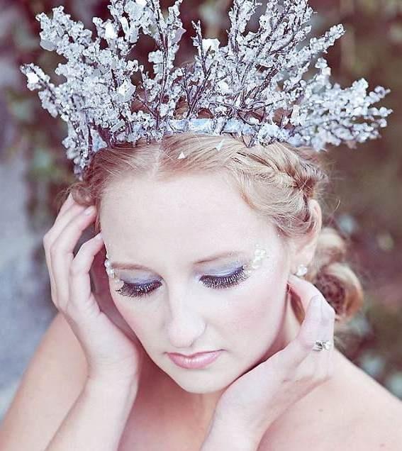 beautiful ice crown