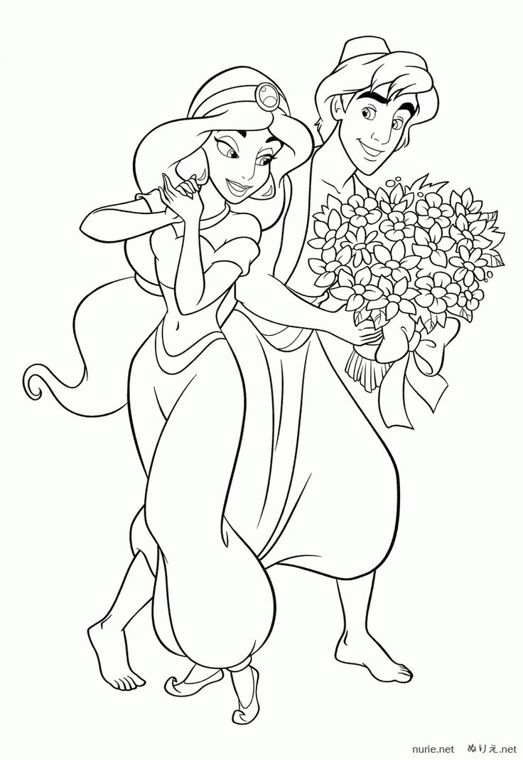 785 best kp princess Jasmine images on Pinterest | Coloring books ...