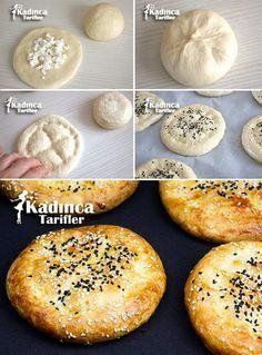 Peynirli Mini Ramazan Pidesi Tarifi