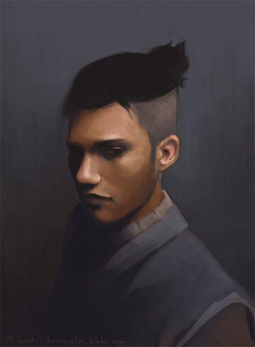 Avatar and Legend of Korra Realistic Portraits Sokka
