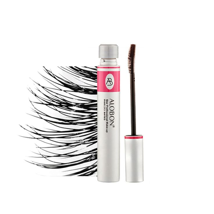 Eyelashes Lengthening Extension Colossal Volume Mascara Black Ink Alobon 3d Fiber Quick Dry Lashes Makeup Curling Natural