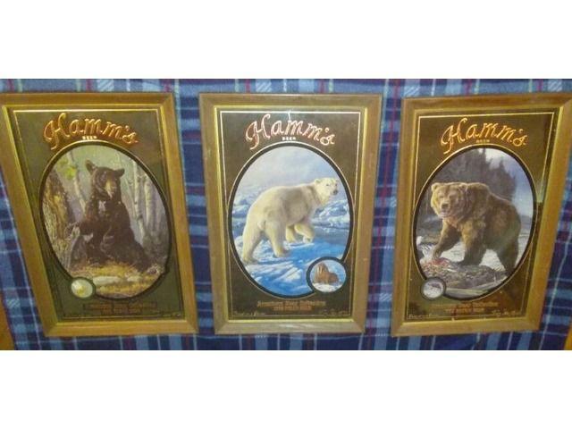 hamms beer collectors series. set of 3. make offer