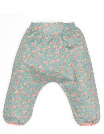 Noa Noa Miniature turkis blomstret bukser