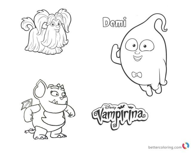 25 Marvelous Photo Of Vampirina Coloring Pages Printable