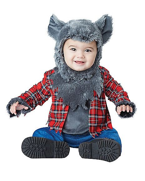 Baby Faux Fur Wittle Werewolf Costume - Spirithalloween.com