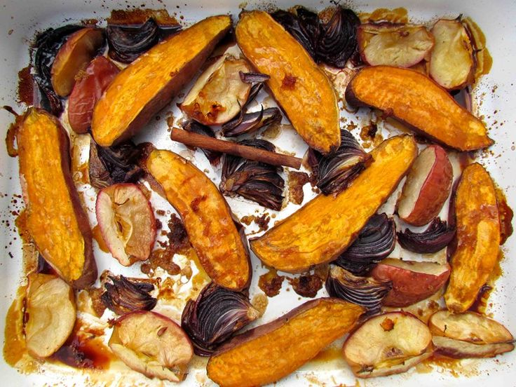 Try our delicious Sticky Roasted Kumara and Apple recipe, perfect for this cold snap, Love Fredge xx