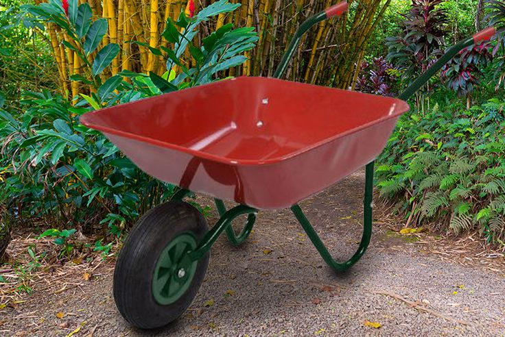 Buy Extra Large 65L Wheelbarrow - 2 Colours! UK deal for just £19.00 £19 instead of £89.99 (from comXuk) for a 65 Litre heavy duty wheelbarrow - save 79% BUY NOW for just £19.00
