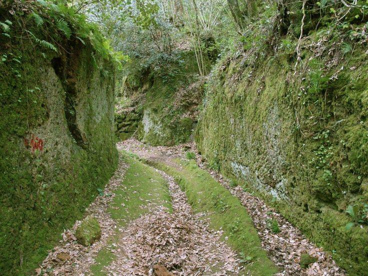 vie cave sovana Pensare che siano state fatte dagli etruschi ed essere li nel mezzo con altezze anche di 25 metri lascia proprio senza parole. Non esattamente la classica attrazione turistica ma piuttosto un'esperienza da provare camminando nel segno della storia.