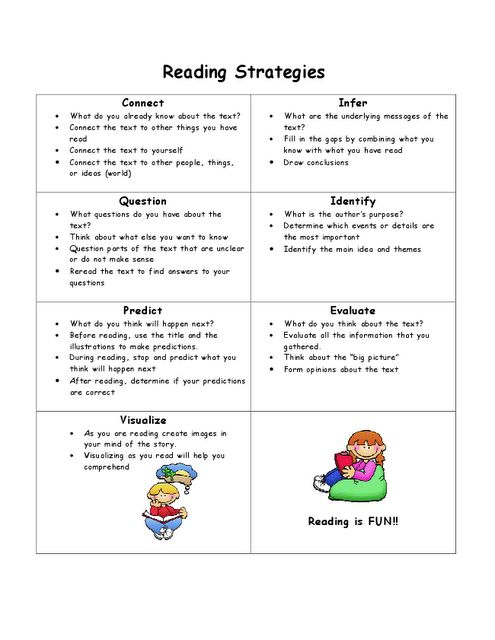 reading strategies for parents so they can use the same reading language