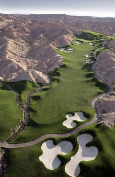 Wolf Creek -  Mesquite, NV   Pretty amazing golf course.  Had such a nice time there in February, 2012.  :)))