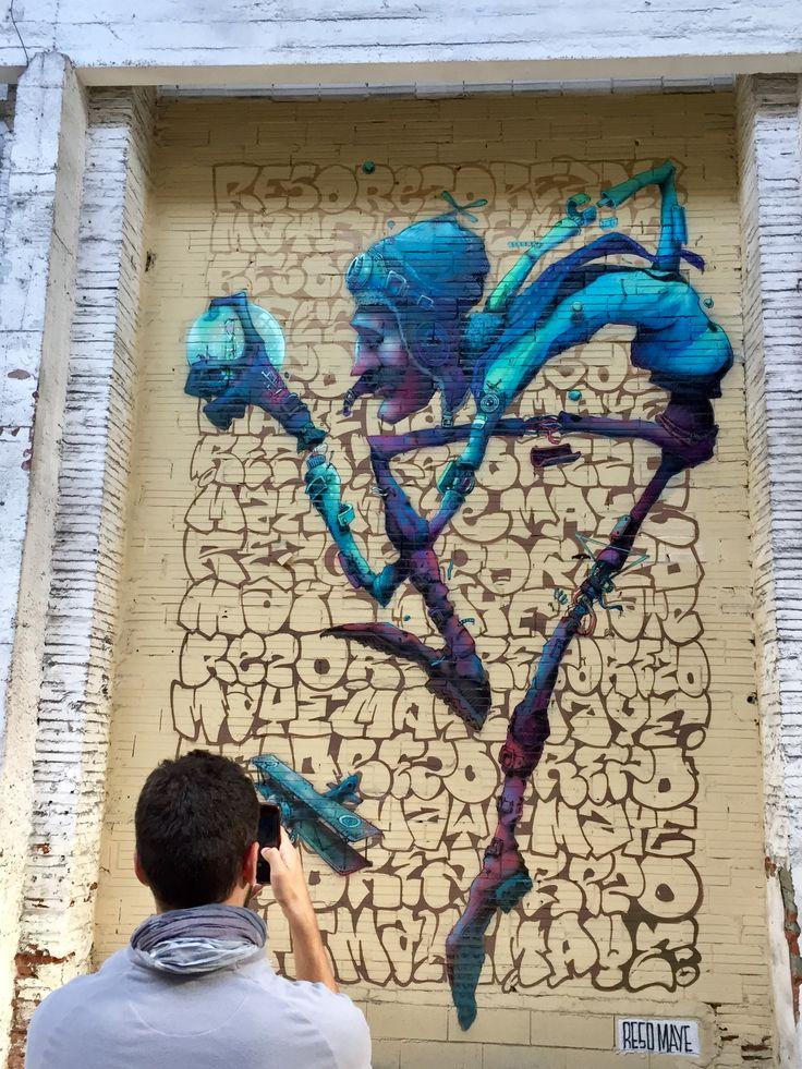 2016. Expo Mister Freeze. Saint Exupéry par Reso et Maye. Toulouse, France © M. Baldello - Office de tourisme de Toulouse #visiteztoulouse #streetart