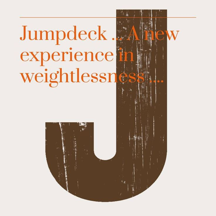 What is the body? What is weightlessness? When you are really happy, blissfully so, you will have let go of your body (that can only occur if you are skilful in meditation) ... a session at Jumpdeck sets the mood for such exquisite taste of freedom!