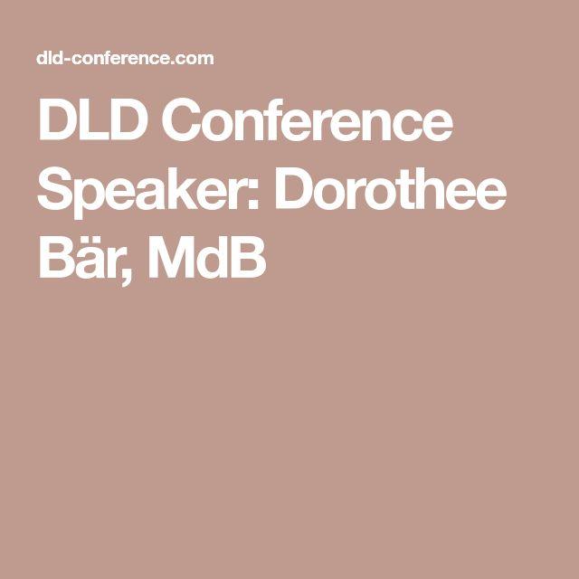 DLD Conference Speaker: Dorothee Bär, MdB