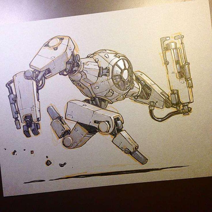 Après avoir transformé lesvaisseaux de Star Wars enmonstres, l'illustrateurJake Parker s'amuse aujourd'hui à transformer les personnages cultes de la p