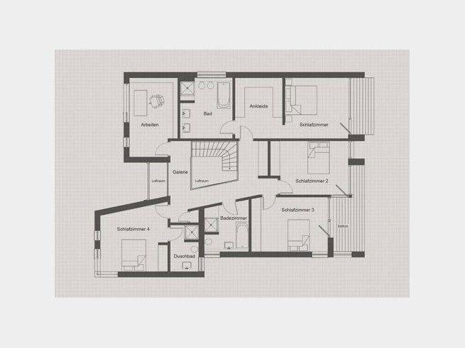 Die besten 17 bilder zu grundriss f rs traumhaus floor for Bauhaus einfamilienhaus grundriss
