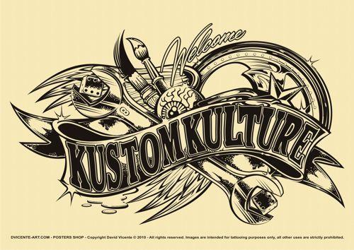 Tattoo Flash 2010 by DAVID VICENTE, via Behance