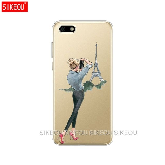 Us 1 78 10 Off Silicone Case For Huawei Honor 7a Pro Case Huawei Y6 2018 Prime Cover Huawei Y5 2018 Prime Y9 Phone Back Cover Soft Tpu Bumper Phone Case Cov Cheap