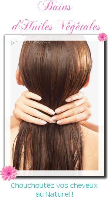 Bains d'Huiles Végétales pour Cheveux