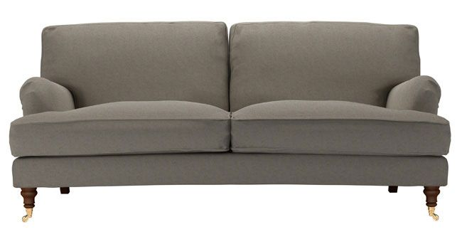 Bluebell Three Seat Sofa in flint brushed linen cotton, @sofa.com UK, http://www.sofa.com/shop/sofas/3-seat-sofa/bluebell/#130-BLCFLI-0-0