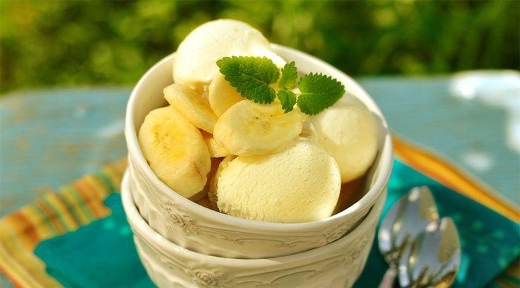 Banana Ice Cream Recipe — Super delicious and a children's favorite.