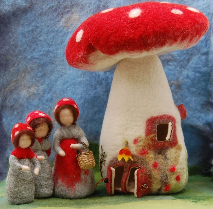 Die Wollwerkerin - Phantasieanregendes aus Märchenwolle - Weihnachten