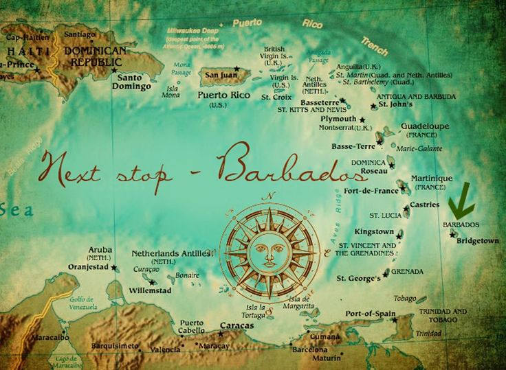 Best Barbados Travel Tips Images On Pinterest Barbados - Barbados earth map