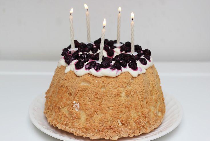 Angel Cake - Carnet Sucré