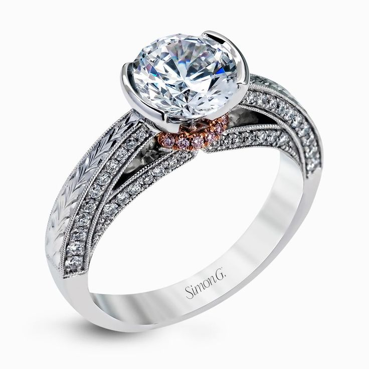 wedding rings diamond 18k white amp gold engagement ring duchess 1022