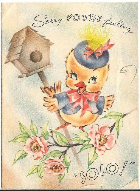 1945 Get Well Card