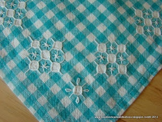 Children's Chicken scratch table Cloth, an Alycia Paulson Design