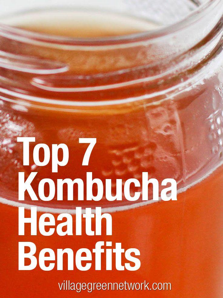 Top 7 Kombucha Health Benefits