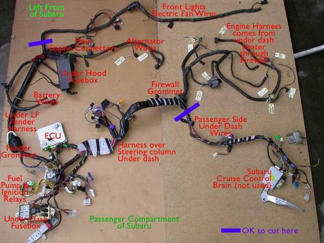 Subaru wiring harness Sculpture john morris Pinterest Subaru