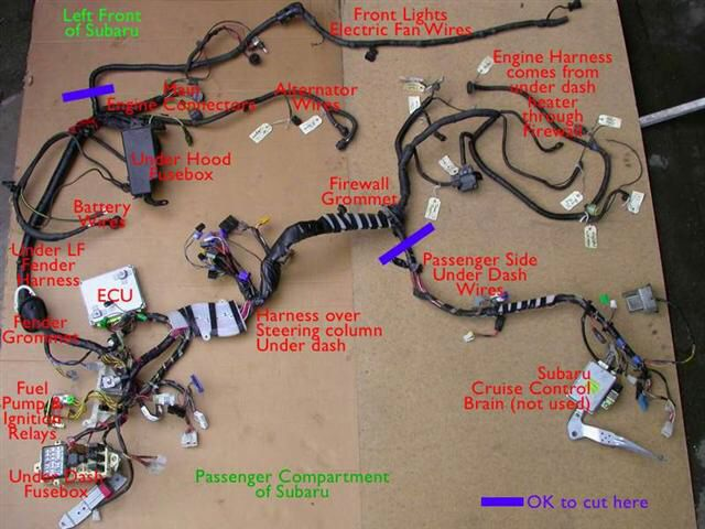 17 best images about bugaru conversion on pinterest ... vw subaru conversion wiring diagram #10