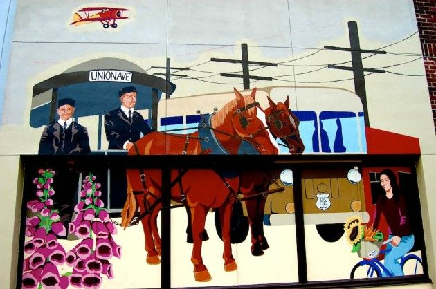 South Tacoma Way (Heritage Bank Building Mural) 5438 S. Tacoma Way Tacoma WA  Artist: Rachael Dotson Photography Submitted By:  Ivan Golovkin