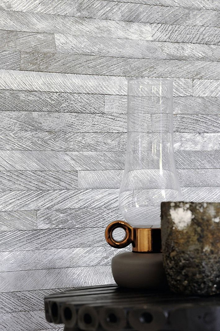 Elitis's Mindoro Kalibo wallcovering is a handcrafted marquetry of palm fibers in 11 organic colors.