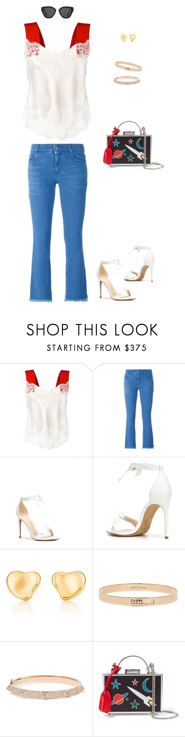 """Untitled #31"" by nextep99 ❤ liked on Polyvore featuring Givenchy, STELLA McCARTNEY, Alexandre Birman, Elsa Peretti, Jemma Wynne, Anita Ko, Mark Cross and Prada"