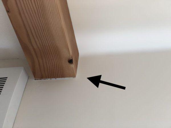 壁紙クロスのひび割れ 継ぎ目の隙間の補修方法 コツ 簡単diyで新築