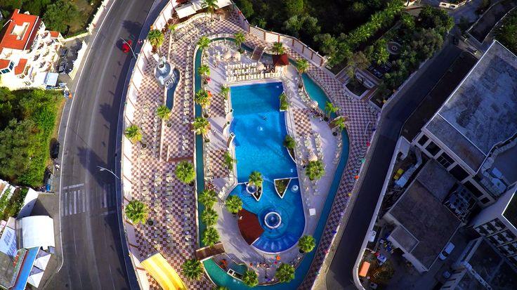 Outdoor pool - Aqua park - Hotel Mediteran #Aquapark #Montenegro #hotel #hotelMediteran #Budva #vacation #summer #fun #fullfeelBudva #mydestination #bestchoice
