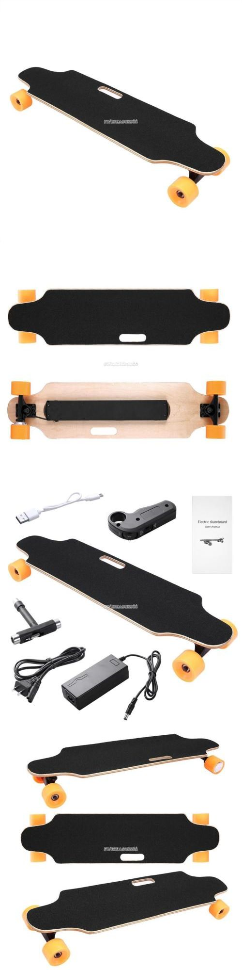 Skateboards-Complete 16264: New Lightest Electric Powered Skateboard 250W Longboard+Remote Control Black -> BUY IT NOW ONLY: $188.79 on eBay!