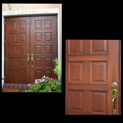 See an expanded view of faux wood garage doors metal for Faux painting garage doors look like wood