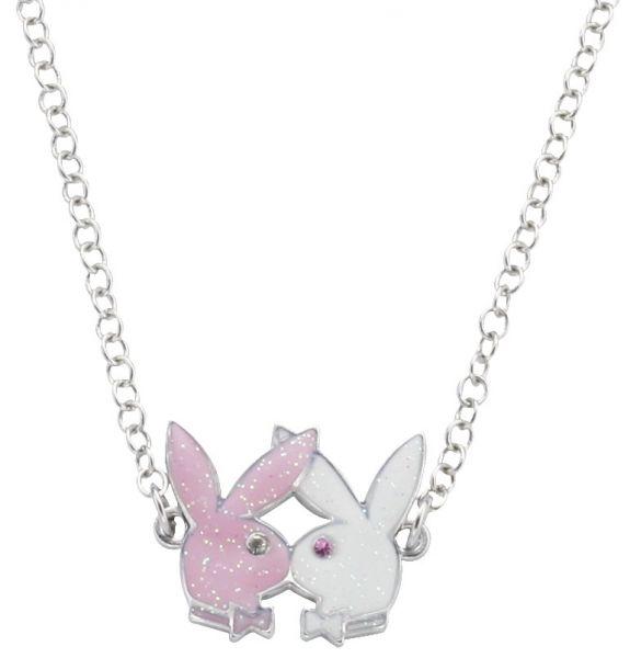 Náhrdelník Playboy White Pink