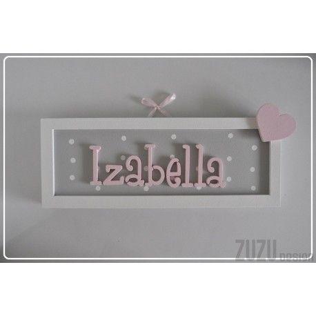 Tabliczka z imieniem Izabella