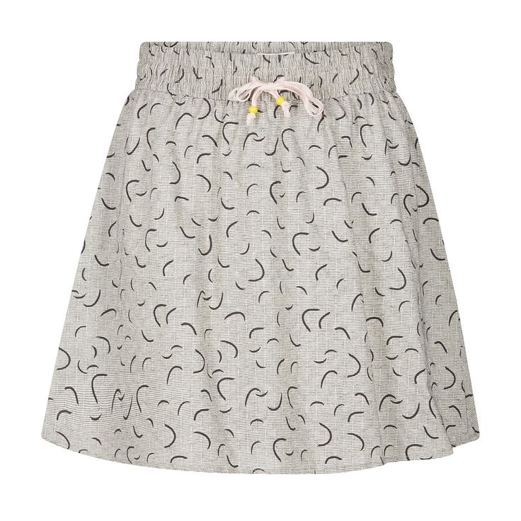 FANCHONE skirt by Nümph. Summer fashion. Short printed skirt. Summer outfit  Forevermlle.com online store