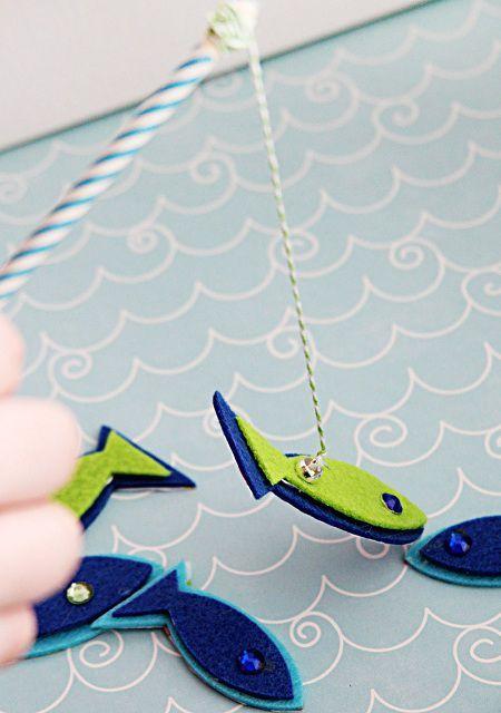 Como hacer un juego de pesca con imanes