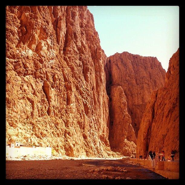 Meraviglioso paesaggio delle Gorges du Todra - Marocco