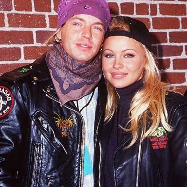 pamela anderson and brett michaels