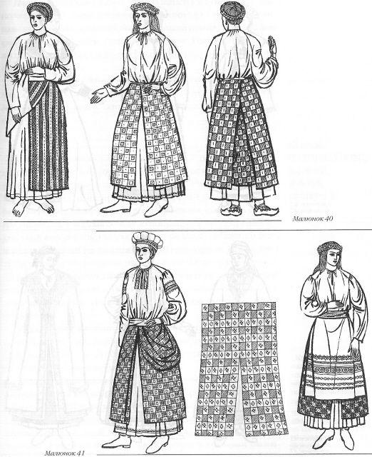 Pan'eva, the three paneled skirt | Medieval Galicia
